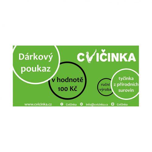 Dárkový poukaz 100Kč na Cvičinka.cz - 1