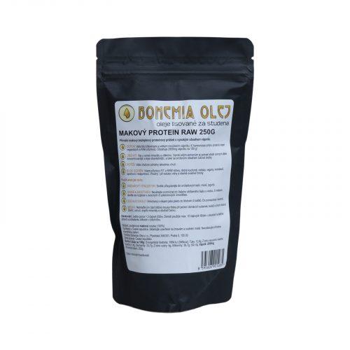 VÝPRODEJ! Bohemia Olej RAW Protein 250g Makový - 1