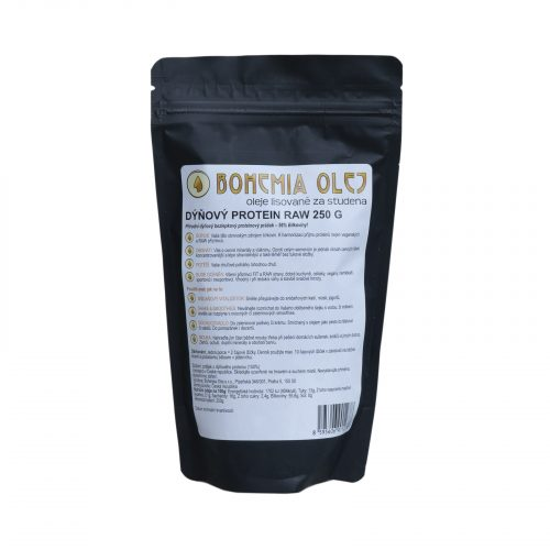 VÝPRODEJ! Bohemia Olej RAW Protein 250g Dýňový - 1