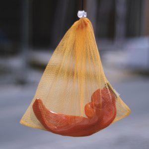 Sáčkovka Ekologická taška zlatá S - 3