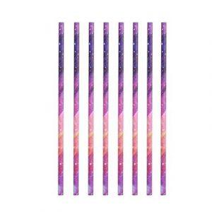 Kikkerland Papírová brčka Galaxie 144 ks - 2