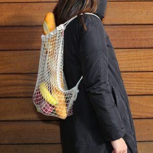 Kikkerland Bavlněný síťový batoh - 2