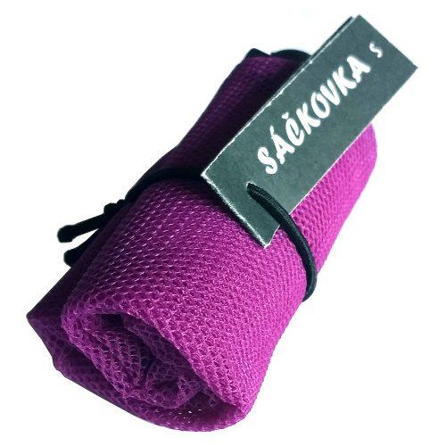 Sáčkovka Ekologická taška fialová S - 1