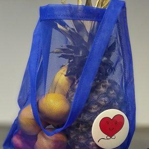 Sáčkovka Ekologická taška nákupní modrá - 2