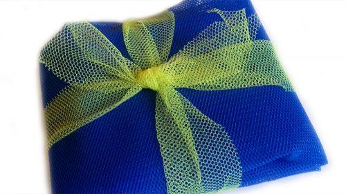 Sáčkovka Ekologická taška nákupní modrá - 1