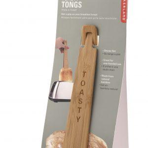 Kikkerland Dřevěné klapky na toasty atopinky - 4