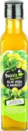BezVa Aloe vera aAngrešt 250 ml - 1
