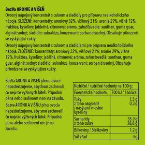 BezVa Aronie aVišeň 250 ml - 2