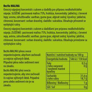 BezVa Malina 1000 ml - 3
