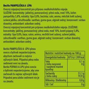 BezVa Pampeliška aLípa 250 ml - 2