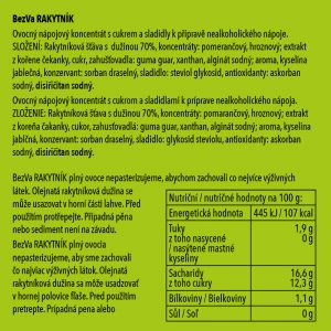BezVa Rakytník 1000 ml - 2
